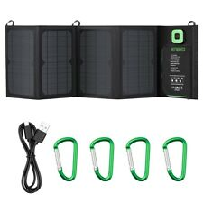 Solar panel 28W charger portable foldable with advanced TIR-C multiple USB 2.0
