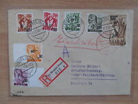Brief Saargebiet mit Mi. Nr.237 Z 2