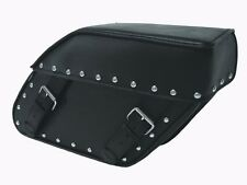 110S Studded Motorcycle Saddlebags Panniers Fits HD Dyna Triumph America