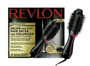 🔥Revlon Pro Collection Salon One Step Hair Dryer And Volumiser Hot Air Brush✨ ✨