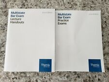 Themis Bar Review 2020 Multistate MBE Lecture Handouts & Practice Exams Book Law