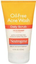 Neutrogena oil-free acne wash daily scrub - 4.2 oz