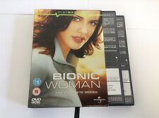 Bionic Woman - Series 1 - Complete (DVD, 2008, 2-Disc Set)