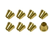 """Nitrous Oxide Systems 16404-8NOS Tube Ferrules Brass .125"""" I.D. Set of 8"""