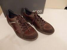 NEW ECCO Men's FRASER Casual Tie Oxford Espresso Leather size 7-7.5 US 41 EU