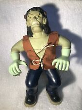 "Vintage Manley Toy Quest Stretch Screamers Frankenstein Universal Monster 13"""