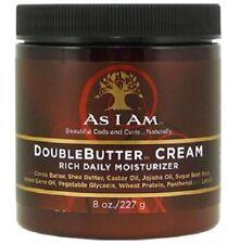 AS I AM Double Butter Cream Rich Daily Moisturizer - 227g / 8 oz
