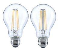 2er trendlights LED LED-Lampe A60 6W-60W 806lm E27 2700k Birne Glas klar EEK A++
