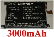 Batterie 3000mAh Pour SONY ERICSSON Z1  TYPE 1588-4170 AGPB011-A001 LIS1525ERPC