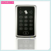 13.56MHz IC card reader Extendable Standalone Access Controller Keypad 1K user
