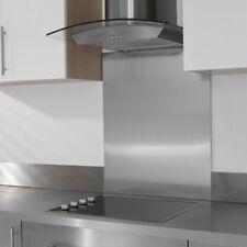 More details for stainless steel splashback - brushed finish - grade 430 - many sizes - uk made