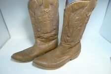 Coconuts Western Cowboy Gaucho Boots Women's Size 6.5 Beige