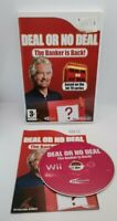 Deal or No Deal: The Banker is Back! Video Game for Nintendo Wii PAL TESTED