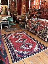 C 1930 Stunning Antique Vintage Exquisite Hand Made Rug 4' 9� X 6' 10�