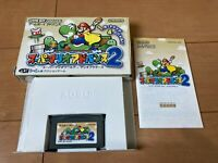 Gameboy Advance SuperMarioAdvance 2 with Box,Manual Gameboy Nintendo gba