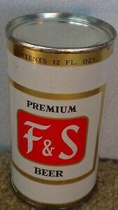 *1955* premium F & S Flat top Beer can