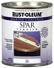 Rust-Oleum Marine Spar Varnish Wood Surface UV Salt Mildew Resistant Home 1qt.