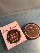 Too Faced Chocolate Soleil Matte Bronzing Powder With Cocoa Rare Edition NIB
