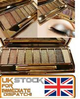 UK Glitter Eyeshadow Palette Pigment Shimmer Metalic Eye Shadow Urban Makeup Set