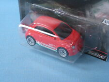 HotWheels Fiat 500 Red Body USA Euro Style Series Toy Model Car 60mm in BP