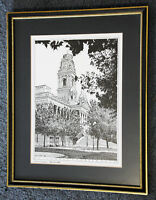 Limited edition signed print of Portsmouth Guildhall by Ian Lower