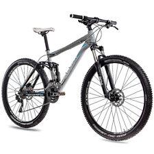 29 pulgadas MTB Bike mountainbike chrisson bateadores FSF aluminio 4-link con 30g Deore gris