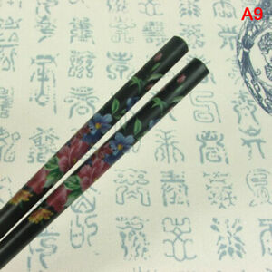 2Pcs Hand-carved Vintage Hairpin Women Chopstick Hair StickB LB