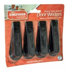 Kingfisher HEAVY DUTY RUBBER DOOR WEDGES For home or office!
