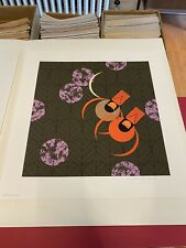 "Charley Harper Signed Limited Edition Serigraph ""Redbirds And Redbuds"" NOS"