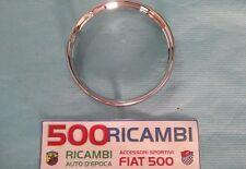 FIAT 500 F/R GHIERA CROMATA PER CONTACHILOMETRI MODELLO F/R STRUMENTO CRUSCOTTO