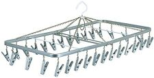 Japanese clothes airer horse hanger with 30 peg séchoir dryer rack drying Japan