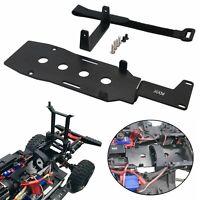 Aluminum Metall Low LCG Batterie Tray Set für Traxxas TRX-4 1/10 RC Auto Crawler