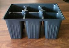 Seed starter trays 300 DEEP EXTRA LARGE CELLS total 50 trays of 6 cells each