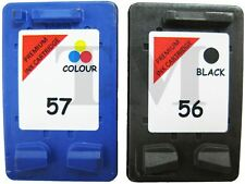 56 Black & 57 Colour NON-OEM Ink Cartridges For HP PSC 1110 Printers