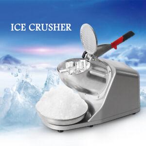 GZZT Eis-Zerkleinerer Elektrische Eiscrusher Smoothie Maker Rasierte Eismaschine