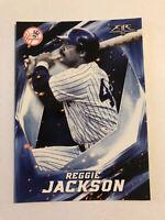 Reggie Jackson 2017 Topps Fire #182 New York Yankees HOF