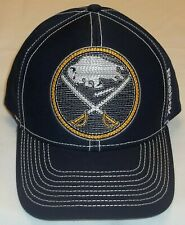 NHL Buffalo Sabres Structured Adjustable Hat By Reebok - Adult One Size - New