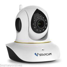 Vstarcam C38S 1080P Full HD Wireless WiFi Motion Detection IR IP Camera White