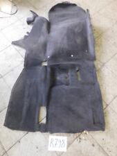 SL R129 Teppich Teppiche Bodenbelag  rechts schwarz 1296800240 Ersetz 1296801040