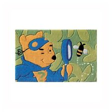 Tappeto Lo scienziato all'opera ABC Italia cm 50x80 wdW500 Winnie the Pooh