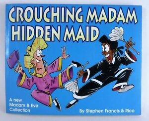 Madam & Eve Collection CROUCHING MADAM HIDDEN MAID Comic by Francis & Rico