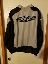 Harley Davidson black & gray mesh biker jacket 2XL, great condition