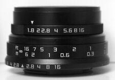 Zonlai HDMC 25mm F1.8 Black Manual Focus LENS f/ SONY ILCE NEX a5000 a6000