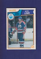 Kevin Lowe 1983-84 O-PEE-CHEE OPC Hockey #37 (NM+) Edmonton Oilers