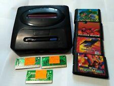 Game console Sega Mega Drive 2 +7 games cartridges 90s