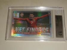 2014 Panini Prizm World Cup Net Finders Prizms Cristiano Ronaldo BGS 9.5 GEM