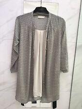 Bird & Kite Dress / Jacket Shirt Dress Tie Waist Long Sleeve Large
