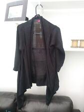 Ladies BNWOT Very Trendy Black Ribbed Cardigan Size 12 Petite