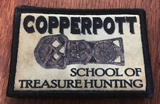 Goonies Copperpot Treasure Hunter Morale Patch Funny Tactical Military USA flag