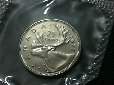 CANADA COIN- 25 CENTS 1972- UNCIRCULATED COIN !!!